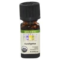 Aura Cacia eucalyptus organic essential oil - 0.25 oz