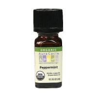 Aura Cacia aromatherapy 100% organic essential oil, Natural peppermint - 0.25 oz
