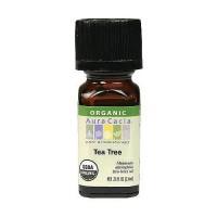Aura Cacia 100% organic essential oil, Tea Tree - 0.25 oz