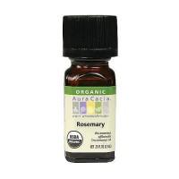 Aura Cacia aromatherapy 100% organic essential oil, Rosemary - 0.25 oz