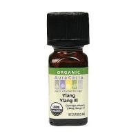 Aura Cacia aromatherapy 100% organic essential oil, Ylang Ylang - 0.25 oz