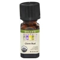 Aura Cacia Aromatherapy 100% organic essential oil Clove Bud - 0.25 oz