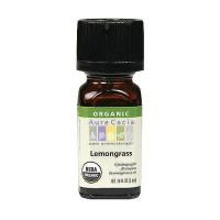 Aura Cacia organic 100% essential oil, Lemongrass - 0.25 oz