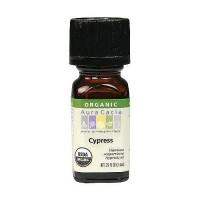 Aura Cacia Aromatherapy 100% organic essential oil, Cypress - 0.25 oz