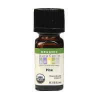 Aura Cacia aromatherapy 100% organic essential oil, Pine - 0.25 oz