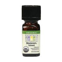 Aura Cacia marjoram organic essential oil, 0.25 oz