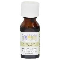 Aura Cacia Cinnamon Leaf, Revitalizing, Pure Essential Oil - 0.5 oz