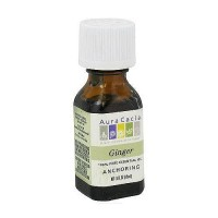 Aura Cacia 100% pure essential oil Ginger ( Zingiber officinale) - 0.5 oz