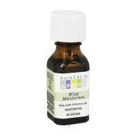 Aura Cacia 100% Pure Aromatherapy Marjoram Wild Essential Oil Bottle - 0.5 oz