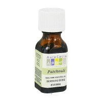 Aura Cacia 100% pure essential oil sensualizing Patchouli (pogostemon cabin) - 0.5 oz