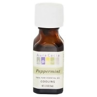 Aura Cacia Pure Essential Oil Cooling Peppermint - 0.5 oz