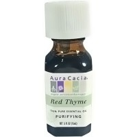 Aura Cacia pure essential oil Thyme, Red(thymus vulgaris) - 0.5 oz