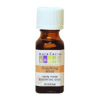 Aura Cacia Aromatherapy soothing heat essential oils, 0.5 fl oz