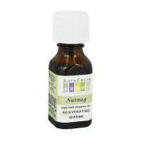 Aura Cacia 100% pure essential oil rejuvenating Nutmeg (mystica fragrans) - 0.5 oz