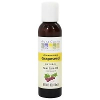 Aura Cacia natural skin care oil with vitamin E, Grapeseed - 4 oz