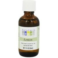 Aura cacia - essential oil renewing lemon - 2 oz