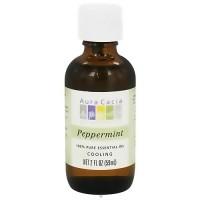 Aura Cacia 100% pure essential oil cooling Peppermint (mentha piperita) - 2 oz
