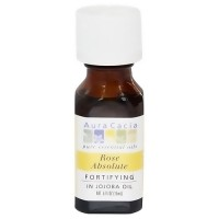 Aura Cacia Pure Essentials Oil, Rose Absolute with Jojoba - 0.5 oz