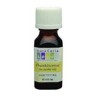 Aura Cacia Essentials Sanctifying Frankincense Jojoba Oil - 0.5 oz