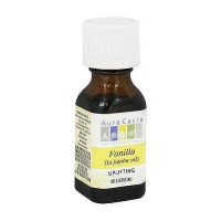 Aura Cacia aromatherapy precious essentials oil vanilla absolute with Jojoba - 0.5 oz