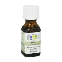 Aura Cacia pure essential oil activating spike lavender (lavandula latifolia), 0.5 oz