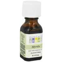 Aura Cacia myrtle pure essential oil elevating, 0.5 0z