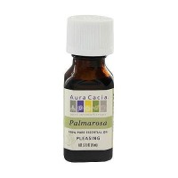 Aura Cacia pure aromatherapy palmarosa pleasing essential oil, 0.5 oz