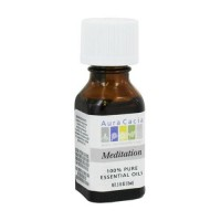 Aura cacia 100% pure aromatherapy meditation essential oil - 0.5 oz