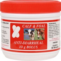 Merrick'S Animal Health anti-diarrheal bolus calf - 50 count, 6 ea