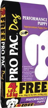 Propac Treats performance puppy food - 44 lb, 1 ea
