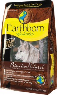 Earthborn holistic grain free primitive natural dog food - 5 lb, 5 ea