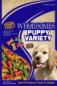 Sportmix sportmix wholesomes grain-free variety biscuit - puppy/2 lb, 12 ea