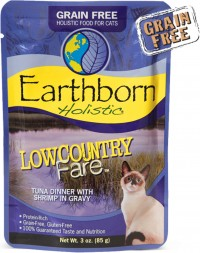 Earthborn earthborn grain-free cat pouch low country fare - 3 ounce, 24 ea