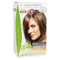 Naturigin 100percentage permanent hair colour dark golden copper blonde 6.0 - 3.9 oz.