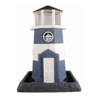 North States Industries village collection shoreline lighthouse birdfeeder - 8 pound cap, 1 ea
