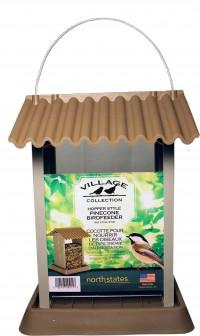 North States Industries village collection pinecone bird feeder - 4.25 pound cap, 4 ea