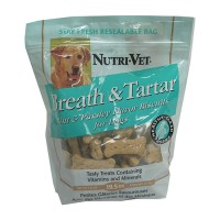 Nutri-Vet Wellness Llc D breath & tartar biscuits - 19.5 ounce, 6 ea