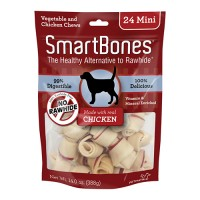 Petmatrix, Llc smartbones - mini/24 pack, 24 ea