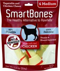 Petmatrix, Llc smartbones - medium/4 pack, 24 ea