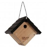 Natures Way Bird Prdts traditional wren hanging bird house - 8x8.875x8.125in, 4 ea