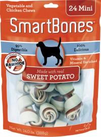 Petmatrix, Llc smartbones - mini/24 pack, 24 ea