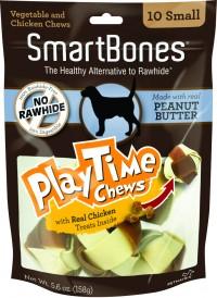 Petmatrix, Llc smartbones playtime chews with real chicken treats - small/10 pack, 24 ea