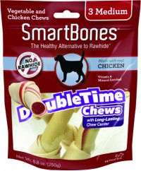 Petmatrix, Llc smartbones doubletime chews for dogs - medium/3 pack, 24 ea