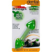 Petstages fresh breath mint stick - small, 48 ea