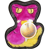 Petstages tough seamz cobra dog toy w/ invincible squeaker - medium, 24 ea