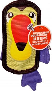 Petstages fire biterz exotic toucan durable fire hose toy - medium, 24 ea