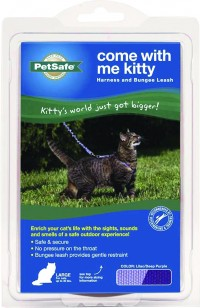 Petsafe - General come with me kitty harness & bungee leash - large, 24 ea