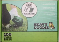Paws/Alcott heavy doodie 2-ply waste bags - 100 count, 12 ea
