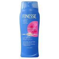 Finesse self adjusting moisturizing hair shampoo for dry, fragile hair - 13 oz