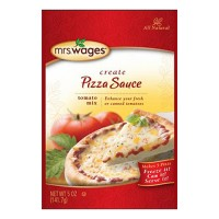 Precision Foods Inc mrs. wages pizza sauce tomato mix - 5 ounce, 12 ea